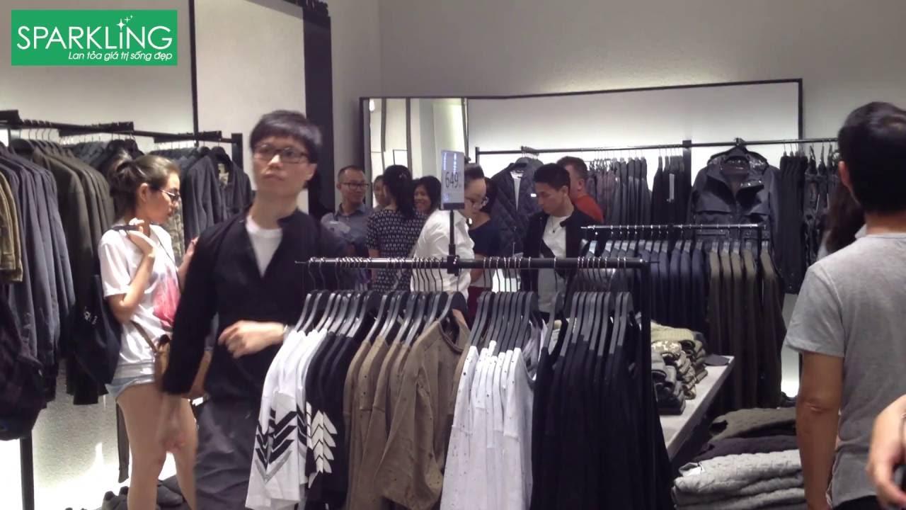 """[Sparkling] Giới trẻ """"điên đảo"""" với cửa hàng Zara đầu tiên ở Sài Gòn"""