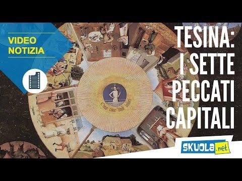 Tesina- I sette peccati capitali