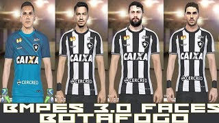 PES 2018 - BMPES 3.0 - TODAS FACES BOTAFOGO - PC