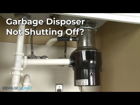 "Thumbnail for video ""Garbage Disposer Won't Turn Off? Garbage Disposer Troubleshooting """