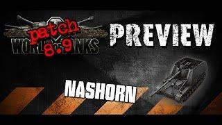 World of Tanks - Patch 8.9 Nashorn Vorschau und Gameplay (German)