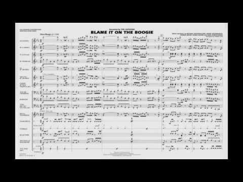 Blame It on the Boogie arranged by Ishbah Cox