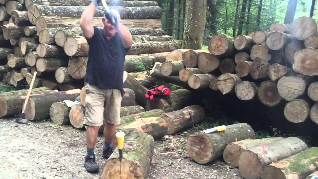 Holz Spalten Youtube
