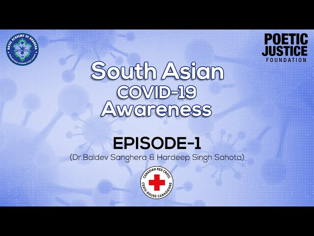 Royal Academy| Canadian Red Cross| Episode - 1| Dr. Baldev Sangehra| Hardeep Sahota| Covid - 19