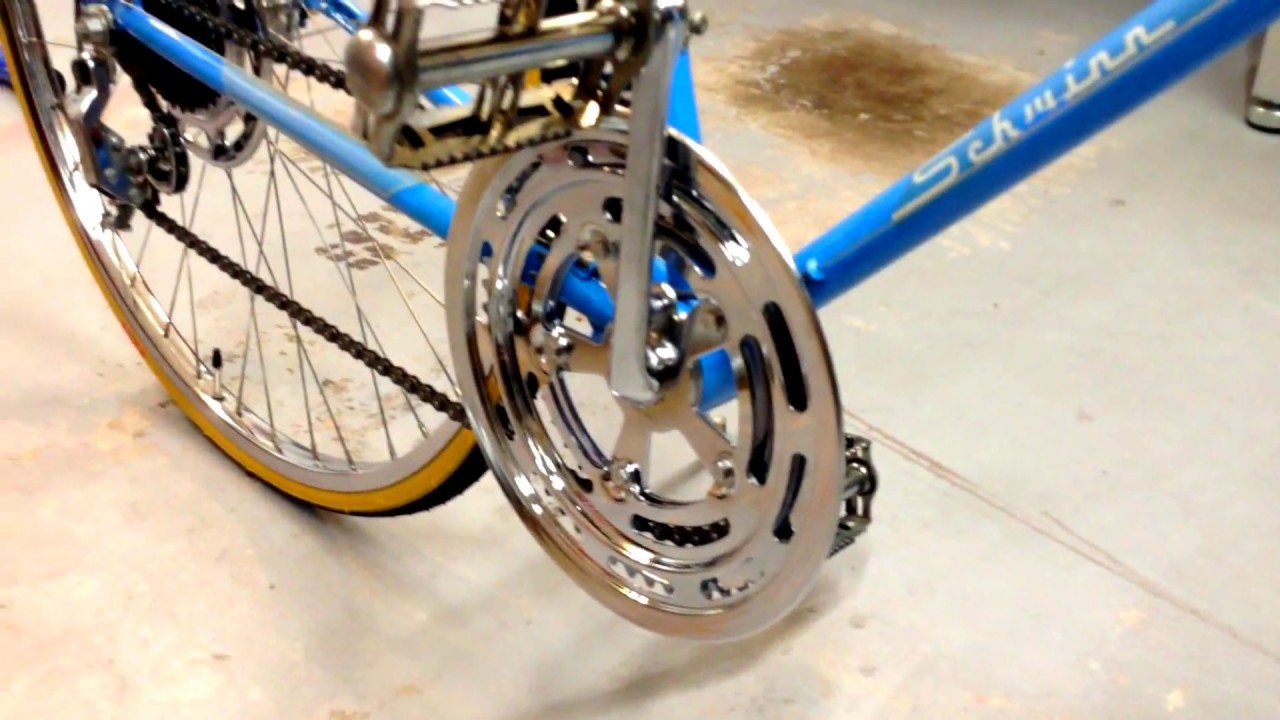 d0e8fbd9be9 Restored 1974 Schwinn Varsity 10 Speed - YouTube