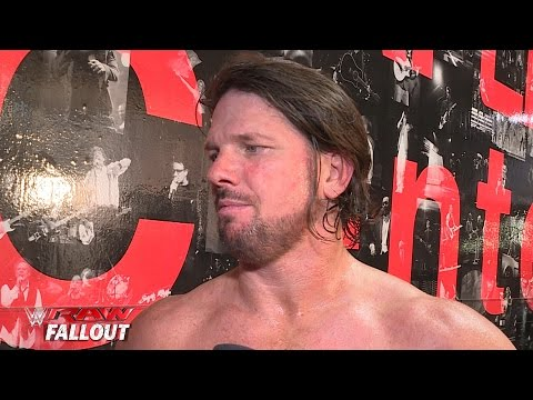 AJ Styles thrives on proving he is the best in the world: Raw Fallout, April 11, 2016