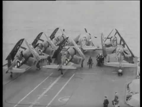 BPF: Flight ops aboard HMS Formidable, 1945
