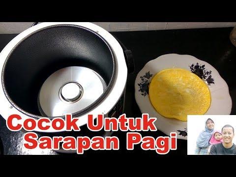Cara Membuat Telur Dadar Rice Cooker - YouTube