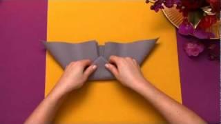Napkin folding from Duni - Elegant