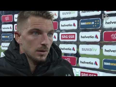 LSTV: FC Lausanne-Sport - Grasshopper Club Zurich, interview d'après-match d' Alexandre Pasche