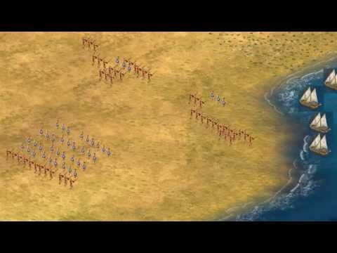 Battle Stack: The Battle of Marathon tactics