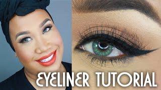 How To Winged Eyeliner Tutorial | PatrickStarrr thumbnail