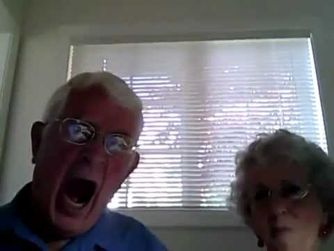 Old people webcam