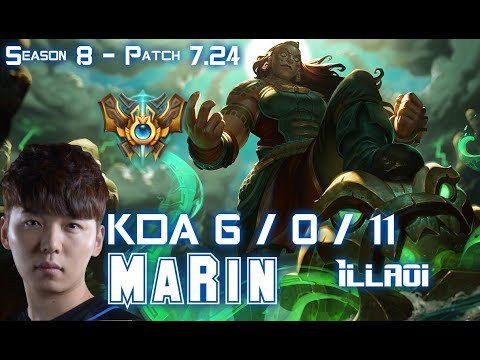MaRin ILLAOI vs CAMILLE Top - Patch 7.24 KR Ranked