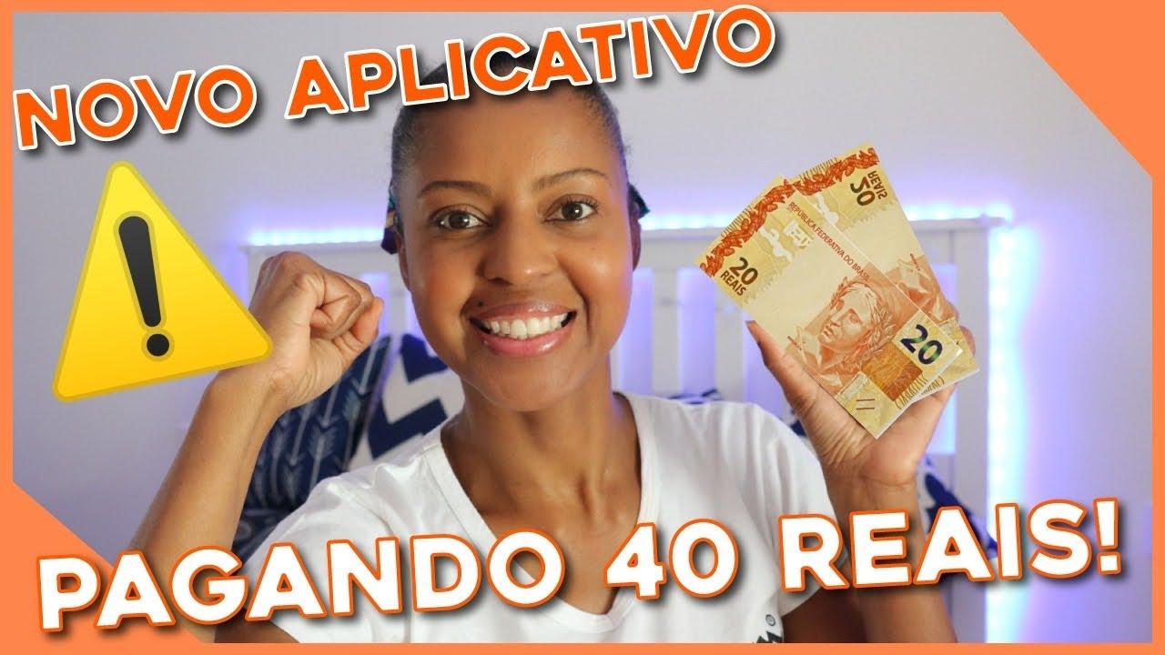 Urgente novo aplicativo pagando 40 reais
