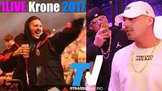Baixar 1LIVE Krone 2017: RAF Camora, RIN, Sido, Marteria, SXTN, Massiv, Bonez MC, Kontra K, Amanda #krone17