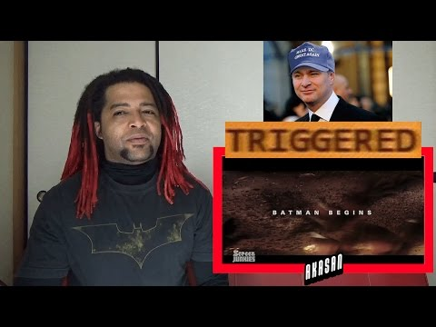 Honest Trailers - Batman Begins - REACTION & DISCUSSION (SLIGHTLY TRIGGERED)