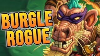 Stealing Wins with BURGLE ROGUE!    Rise of Shadows   Hearthstone