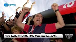 TG TREVISO (14/03/2018) - IVANO BEGGIO UN GENIO ISPIRATO DALLE COLLINE ASOLANE