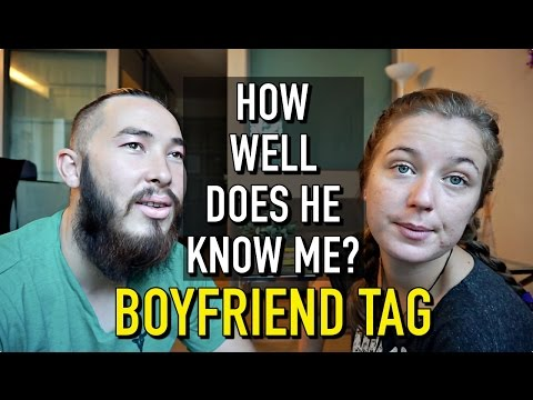 HOW WELL DOES HE KNOW ME!?   Boyfriend Tag & Punishment