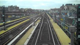 [HD] NYC Subway (7) train full ride Times Square - Main Street Part 2 of 3