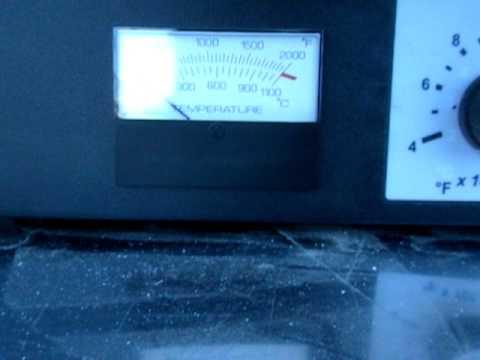 Used- Dentsply/Ceramco Vulcan Single Setpoint Analog Control Benchtop Furnace - Stock# 42462117