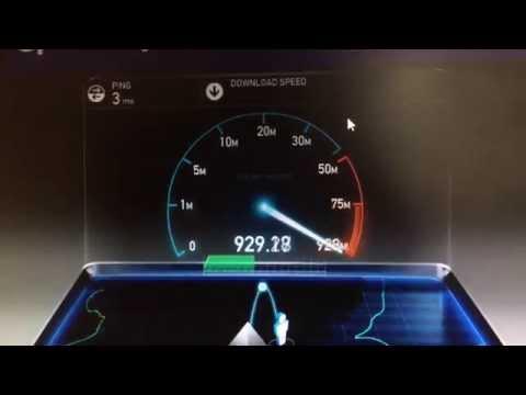 Hyperoptic 1Gbps Internet Speed Test