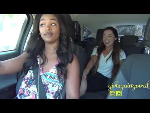 Girl Kissing Hot Girls in Ride Sharing PART 1