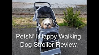 PetsN'll Happy Walking Dog Stroller Review