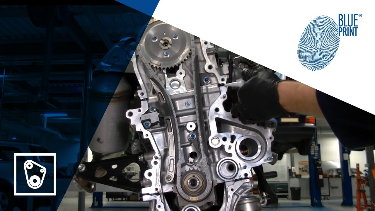 [EN] Toyota 1 4 D-4D - Timing chain replacement