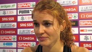 Axelle Dauwens (BEL), 400m Hurdles Women