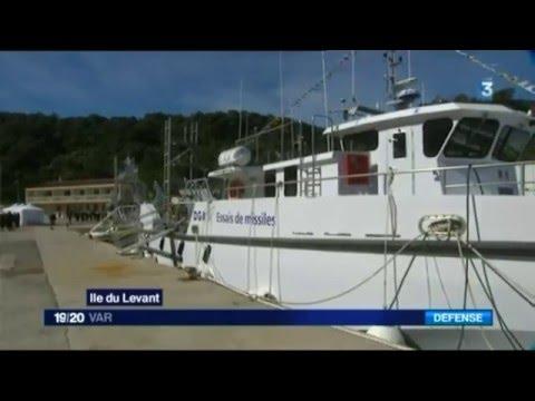 """France3 """"Nahaura le navire d'essais de la DGA livré par iXblue"""""""