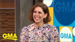 Vanessa Bayer revives her Miley Cyrus impression on 'GMA'