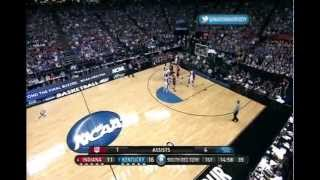 #1 Kentucky vs #4 Indiana Ncaa Tournament Sweet 16 3-23-12 (Full Game)