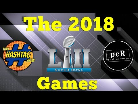 The 2018 PCR/Hashtag Superbowl Games