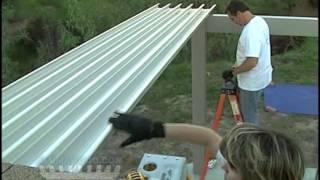 "Alumasolid Step 4 ""roof Pans"""