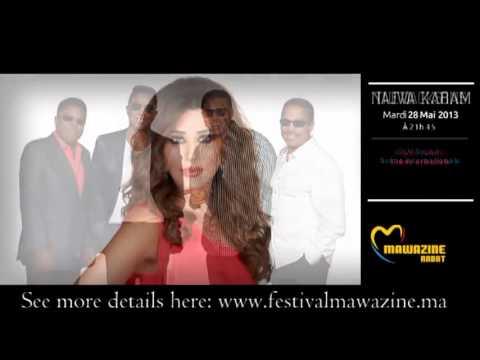 Programme Festivel Mawazine 2013
