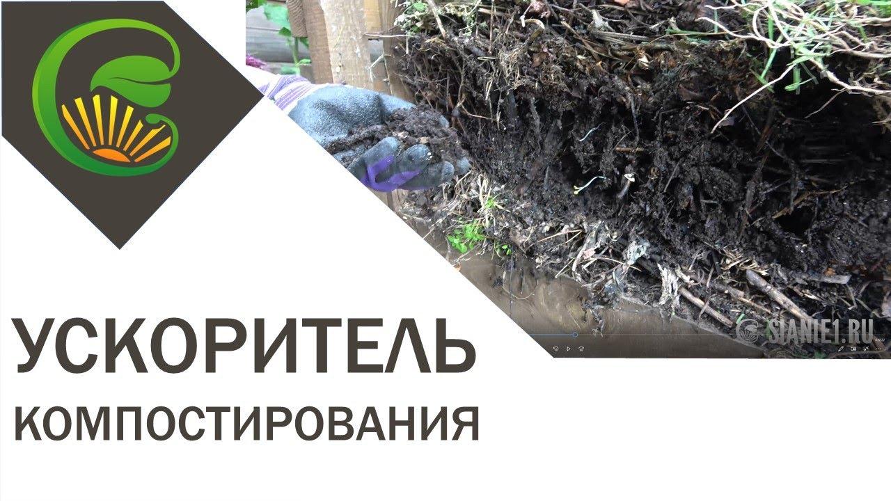 Ускоритель компостирования