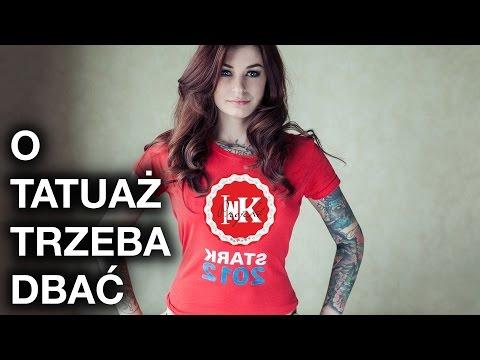 O tatuaż trzeba dbać | Projekt INK