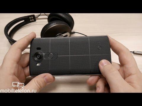 Предварительный обзор LG V10 с двумя экранами (preview)