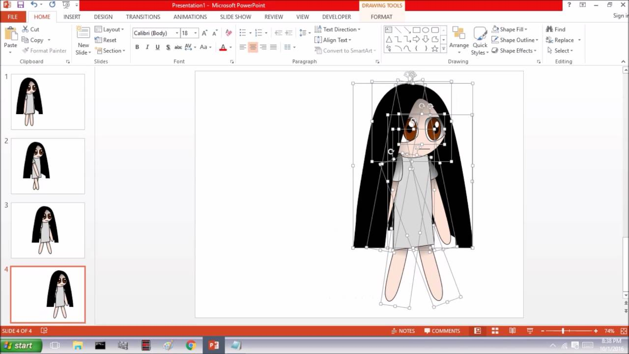 I made awesome powerpoint anime youtube i made awesome powerpoint anime toneelgroepblik Images