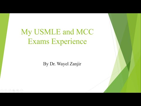 My Experience With USMLE And MCC Exams