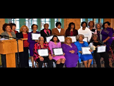 """2017 Women Making History Awards"" National Council of Negro Women CHICAGO MIDWEST SECTION"