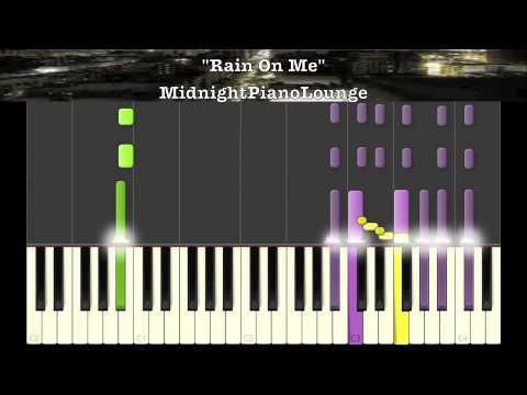 Rain On Me By Ashanti Piano Tutorial In Eb Minor Youtube