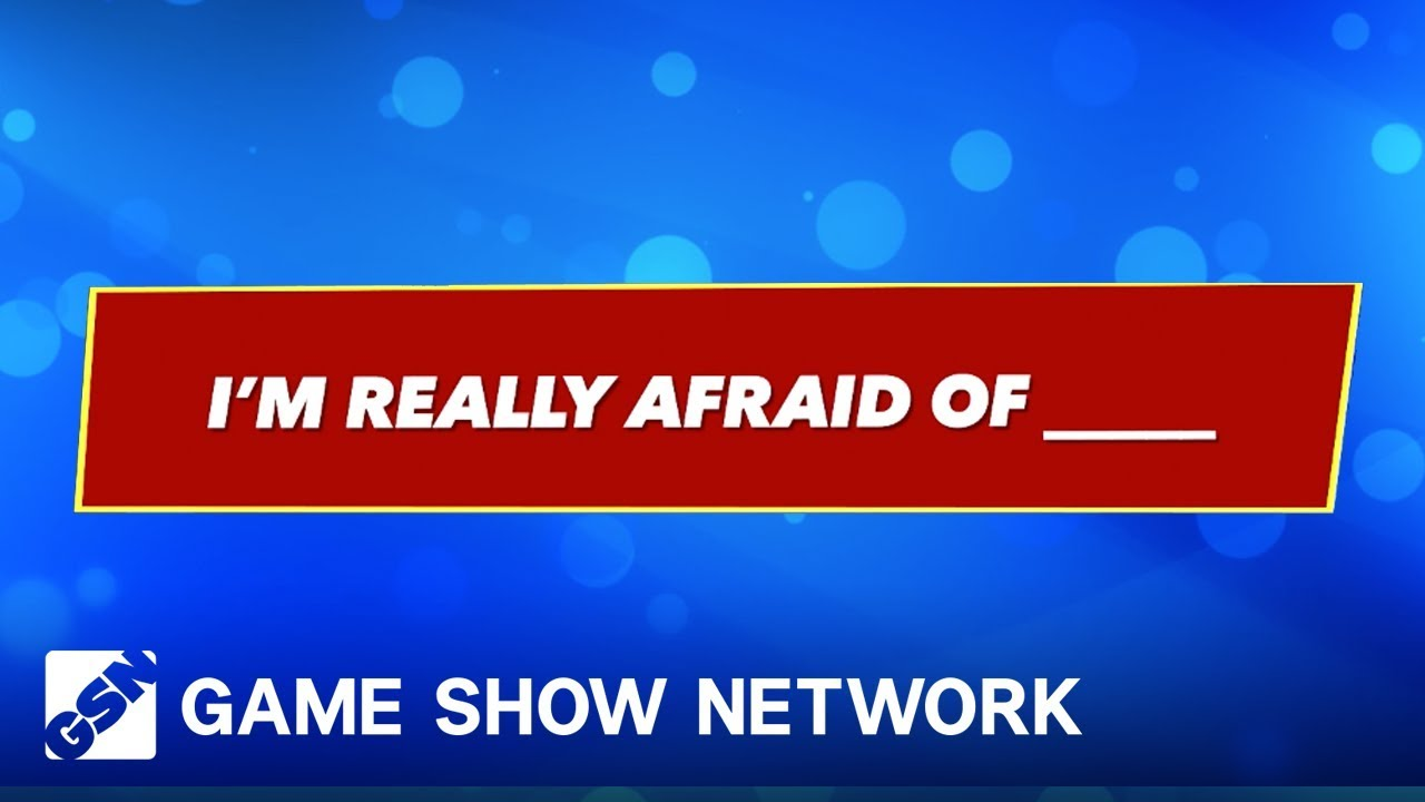 The Most Terrifying Things | America Says | Game Show Network - YouTube