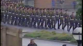 Junior Leaders Regiment Royal Artillery, British Army, Nuneaton Right to Bear Arms March Oct 1987