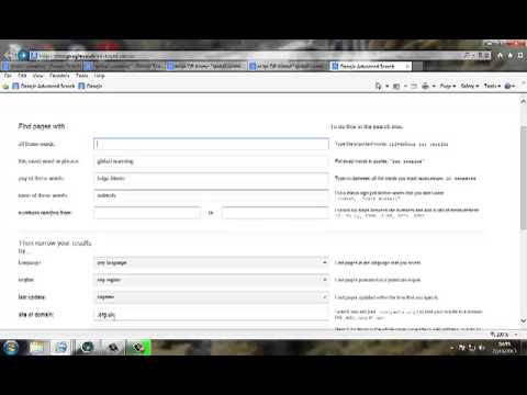 How do I use google to search the internet (effectively) - YouTube