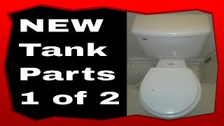 Plumbing How To Change Out A Toilet Tank Inside Parts Part 1of Part 2