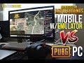 PC PUBG vs PUBG Mobile w/ Emulator (Pros & Cons!)
