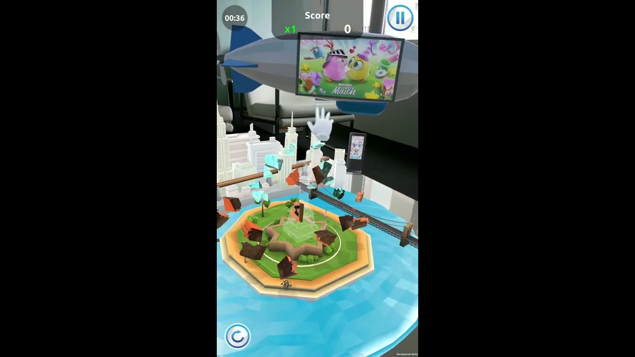 Adverty AR ads in PuzzlAR from Bica Studios